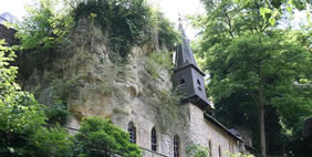 Church in The Rock, Luxembourg City, Luxembourg