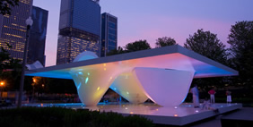 Burnham Pavilions, Chicago, USA