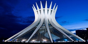 Cathedral of Brasilia, Brasilia, Brazil