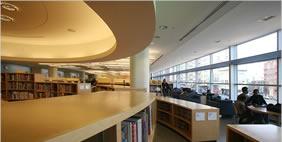 Библиотека в Бронксе, Нью-Йорк, США