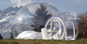 Bubble Tents by Stephane Dumas, France