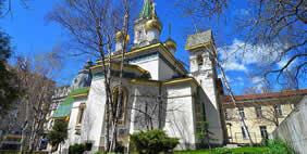 Church of St. Nicholas, Sofia, Bulgaria