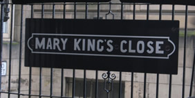 Mary Kings Close, Edinburgh, Scotland