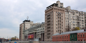 Quay Black House, Moscow, Russia