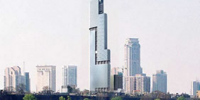 Zifeng Tower, Nanjing, China