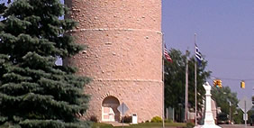 Ypsilanti Water Tower, Michigan, USA