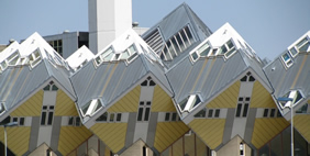 Cube-Shaped Houses, Rotterdam, Netherlands