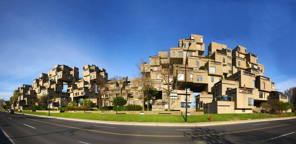 Image result for Habitat 67, Montreal, Canada