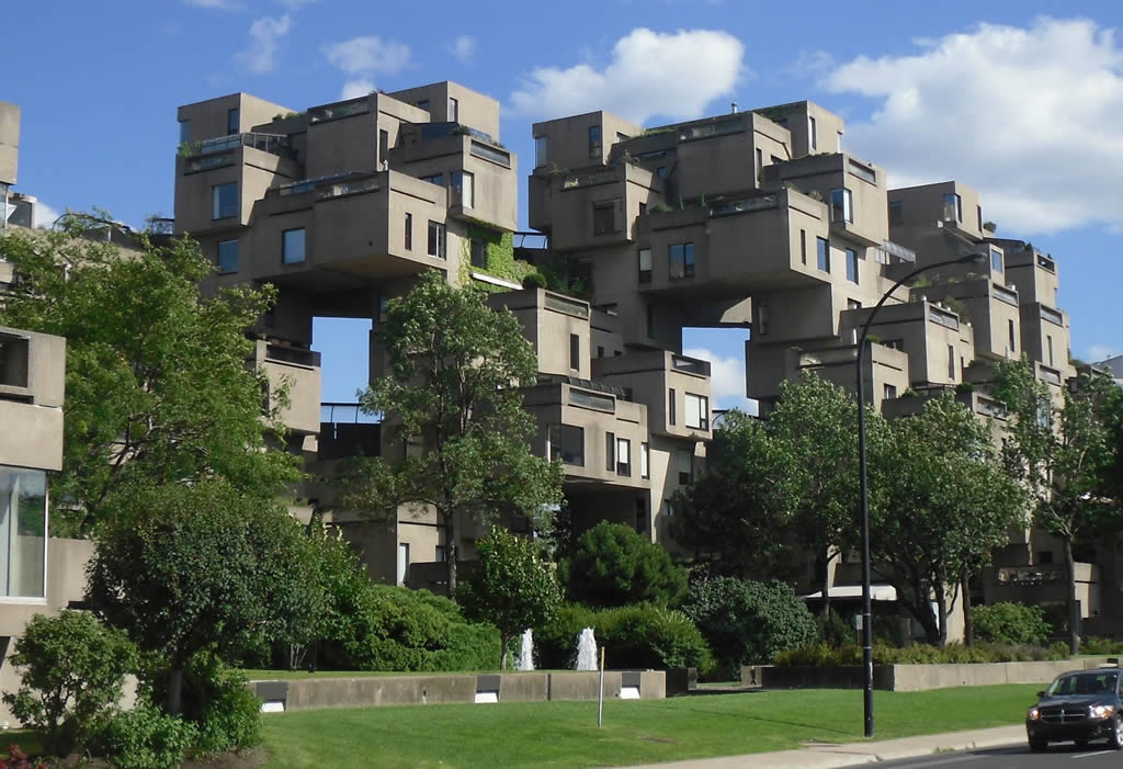 Habitat 67 montreal canada photo gallery funny buildings for Habitat 67 architecture