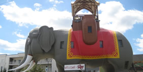 Lucy the Elephant, Margate, New Jersey, USA
