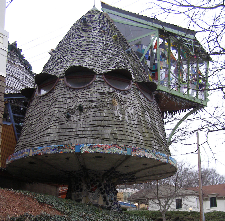Mushroom house cincinnati usa photo gallery funny Oh design