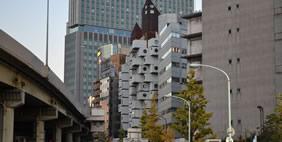 Nakagin Capsule Tower, Tokyo, Japan