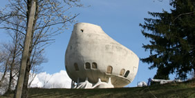 A Weird House, The Alps, France