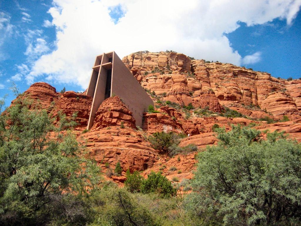 Chapel of the holy cross sedona arizona usa photo for Sedona architects