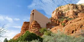 Chapel of the Holy Cross, Sedona, Arizona, USA