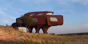Robert Brunos Steel House, Texas, USA