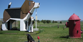 Dog Bark Park Inn, Idaho, USA