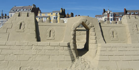 Sandcastle Hotel, Weymouth Beauch, Dorset, Great Britain