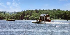 Floating Underwater Hotel, Vasteras, Sweden