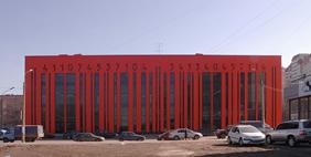 Bar Code Building, Saint Petersburg, Russia