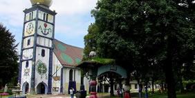 Saint Barbara Church, Barnbach, Austria