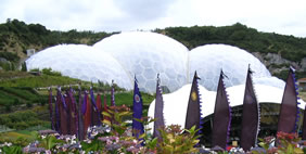 Eden Project, Cornwall, UK