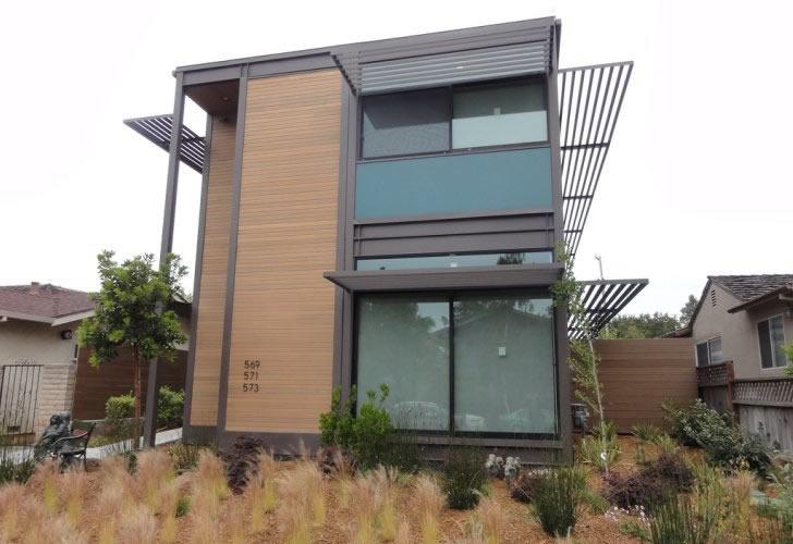 Z6 house santa monica california usa photo gallery for Two family modular homes