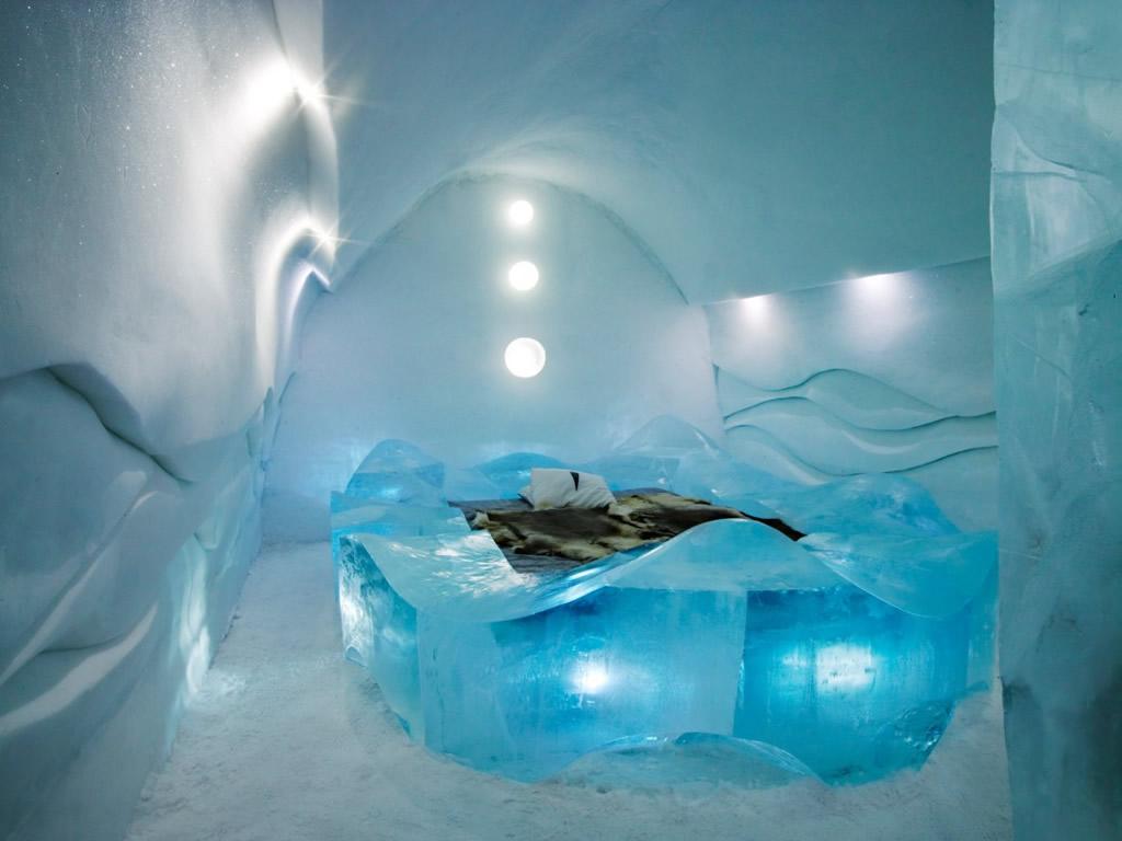 Ice Hotel Jukkasjarvi Lapland Sweden Photo Gallery