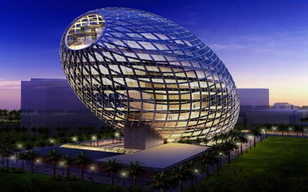 Cybertecture Egg Mumbai India Photo Gallery World Building Directory