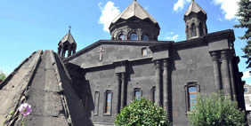 Yot Verk Church, Gyumri, Armenia