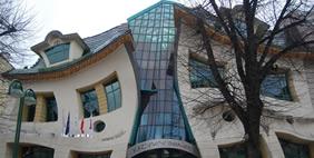 Ծռմռված տուն, Սոպոտ, Լեհաստան