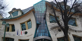 Crooked House, Sopot, Poland