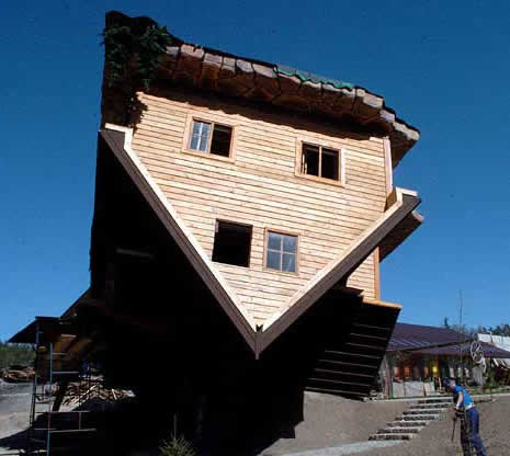 Upside Down House Poland Szymbark Photo Gallery