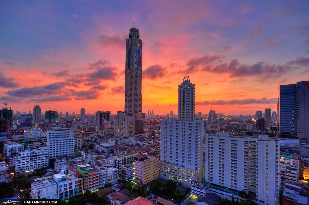 Baiyoke Tower II, Bangkok, Thailand  Photo Gallery  World Building Director...