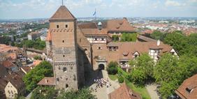 Nuremberg Castle, Bavaria, Germany