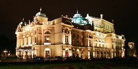 Juliusz Slowacki Theatre, Krakow, Poland