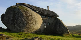 Stone (Age) House, Fafe Mountain, Portugal