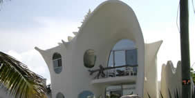 Conch Shell House, Isla Mujeres, Mexico