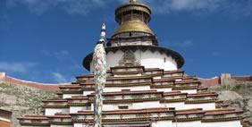 Ստուպա Կումբում, Գյանցե, Տիբեթ