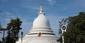 Ստուպա Խաղաղության Պագոդա, Գալլե, Շրի Լանկա