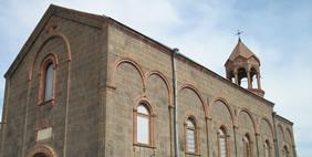 St. Mesrop Mashtots Church, Oshakan, Armenia