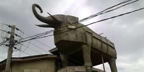 Տուն  Փիղ, Լագոս, Նիգերիա