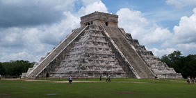 Temple of Kukulkan, Chichen Itza, Mexico