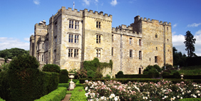 Chillingham Castle, Northumberland County, Great Britain