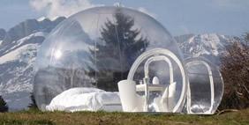 Дома-Пузыри Стефана Дюма, Франция