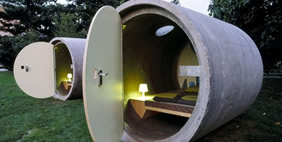 Das Park Hotel (Hotel in Sewer Pipes), Linz, Austria