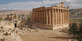 Temple of Jupiter, Baalbek, Lebanon