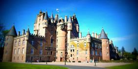 Замок Глэмис, Стратмор, Шотландия