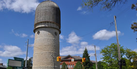 Ypsilanti Water Tower, Michigan, USA
