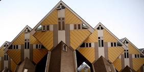 Cube-Shaped Houses, Rotterdam, Netherlands